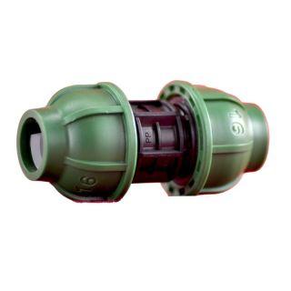 PE Schraub Kupplung 16 mm - 16 mm