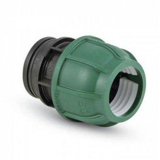 PE Schraub Kupplung 25 mm 3/4 AG
