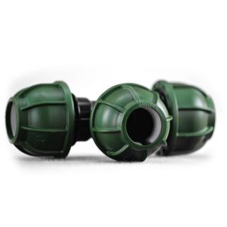 PE Schraub T-Stück 20 mm - 20 mm - 20 mm
