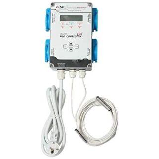 GSE Fan Controller Temperatur, Luftbefeuchtung & Zu- & Abluft 16 A