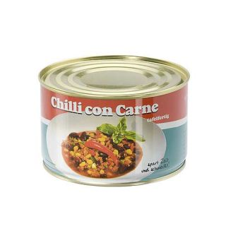 Chili con Carne Can Safe